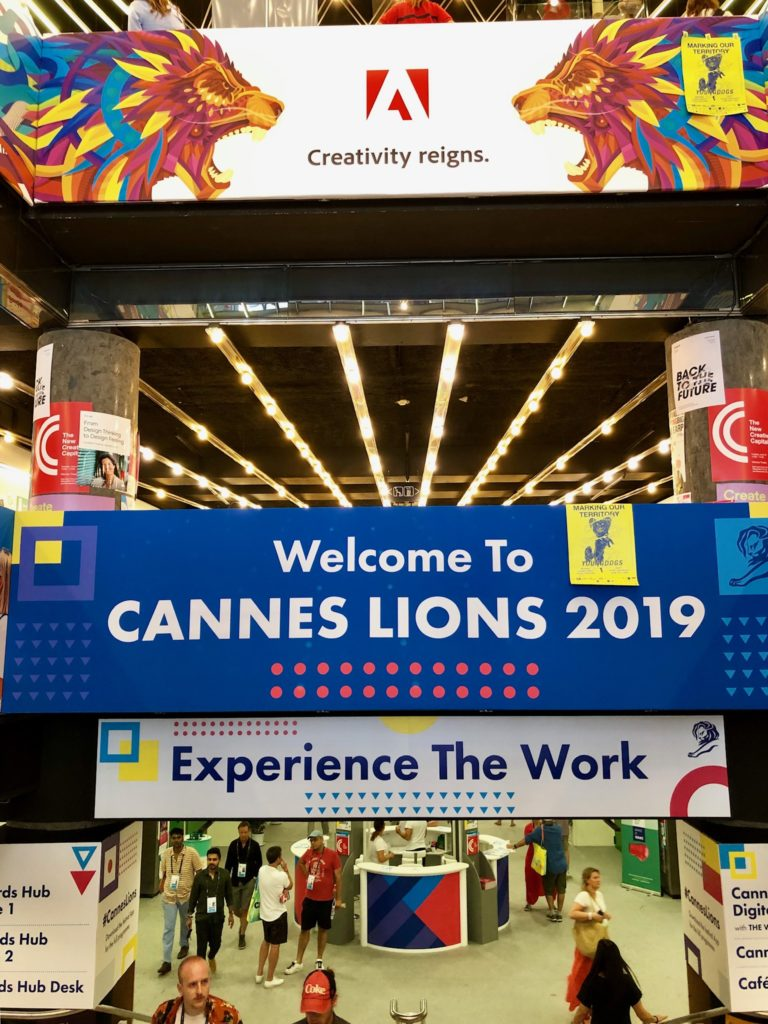 Welcome signs Cannes Lions 2019