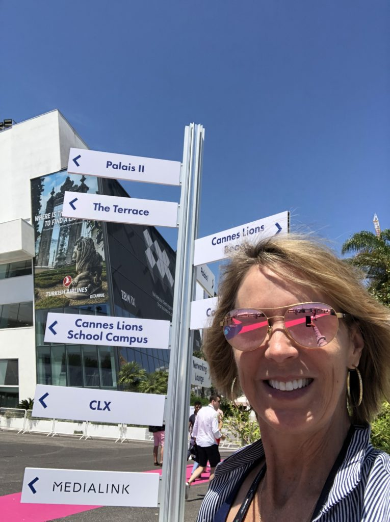 Elise Mitchell Cannes Lions 2019