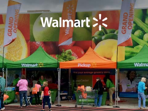 Walmart Grand Opening with logo overlay